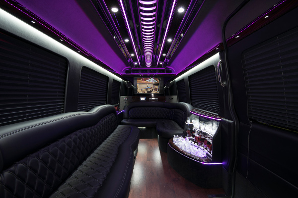 12 Passenger Party Buses Miami