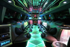 Hummer Limo Near Miami